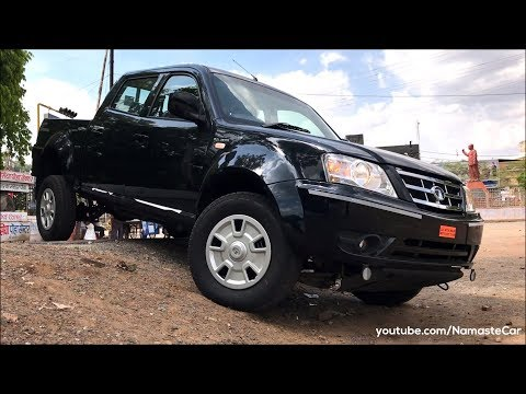Tata Xenon DLE 3.0L DiCOR 2018 Real life review
