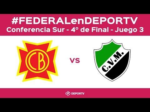 #FEDERALenDEPORTV - Belgrano (San Nicolás) vs Villa Mitre (Bahía Blanca) - 4tos de Final