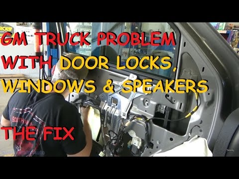 GMC / Chevy Truck - Power Window & Power Lock - The Fix