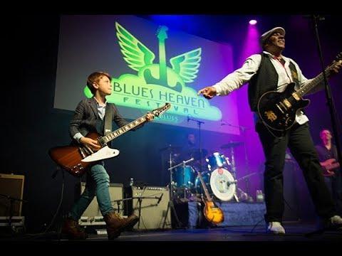12-years guitar phenomenon TOBY LEE @ Blues Heaven Festival in Denmark November 3rd & 4th 2017