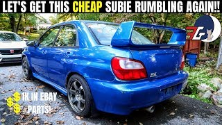 CHEAP Subaru WRX Project Gets over 1K in EBAY Parts | What did I get??!