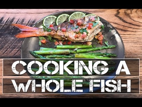 How to cook a whole fish recipe youtube for How to cook a whole fish