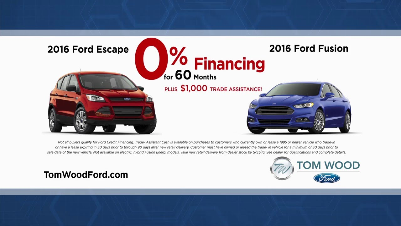 May Specials Tom Wood Ford Youtube