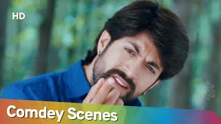 Gajakesari (2014) Yash & Saadu Comedy Scenes Superhit Kannada Movie