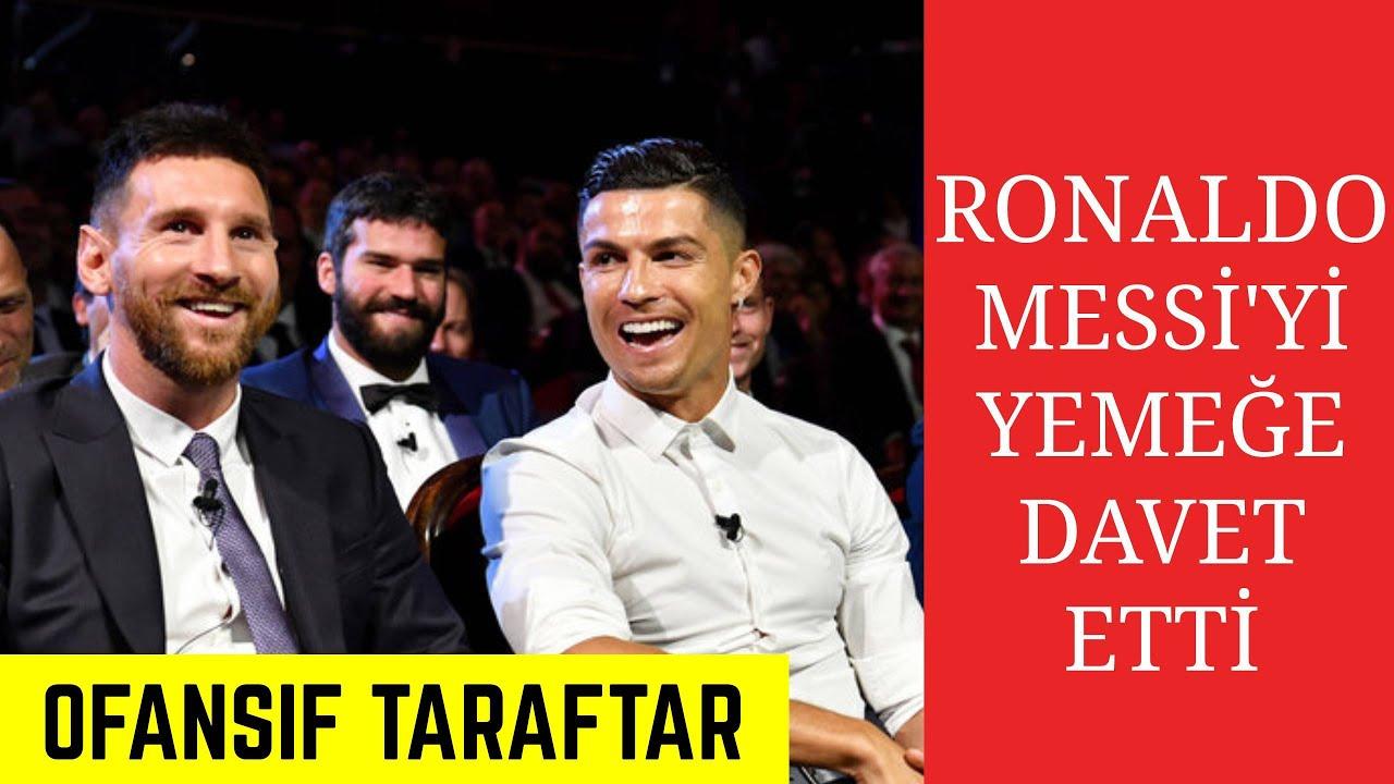 (TÜRKÇE ALTYAZI) Cristiano Ronaldo Messi'yi YEMEĞE DAVET ETTİ!! TARİHİ AN!