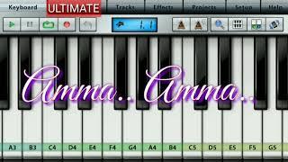 Ama Ama. Bgm | M.Kumaran SO Mahalakshmi | piano tutorial