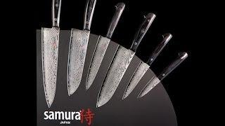 Тест лучших японских кухонных ножей Samura