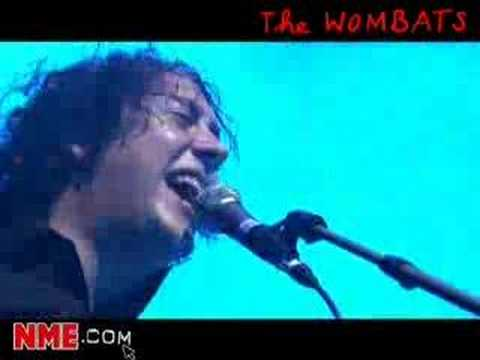 NME Video: The Wombats Live - Lets Dance To Joy Division