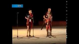 Folk singers from the Northeast perform at Desaj-2014 in New Delhi