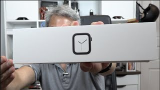 Apple Watch Serie 4 Black 44mm aluminum Unboxing - Primeras impresiones