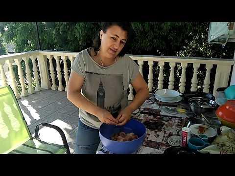 Хорватия.Маленькие радости.Впервые готовим осьминога.
