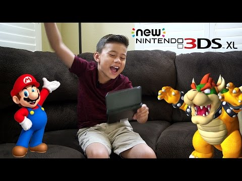 NEW NINTENDO 3DS XL!