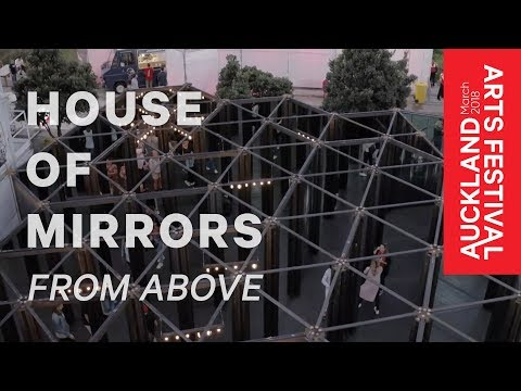 House of Mirrors from above – Auckland Arts Festival 2018