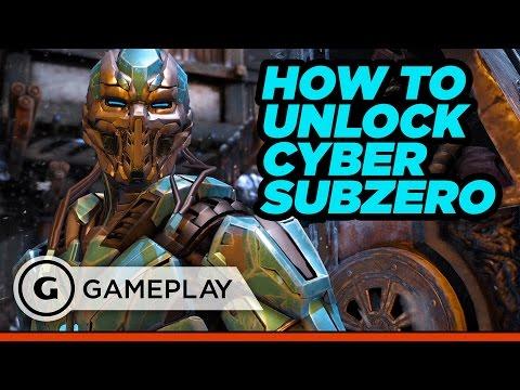 Unlock Cyber Sub Zero in Mortal Kombat XL