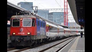スイス国鉄の快速列車IR [Re420機関車]