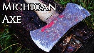 Restoration - Restoring a Double Bit Michigan Axe