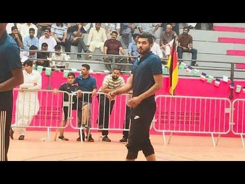 Shooting volleyball Europe   Shani gujjar club vs Jamshed warraich club match 2018