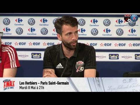 Paris Saint-Germain CONFERENCE DE PRESSE LES HERBIERS - PARIS SAINT-GERMAIN