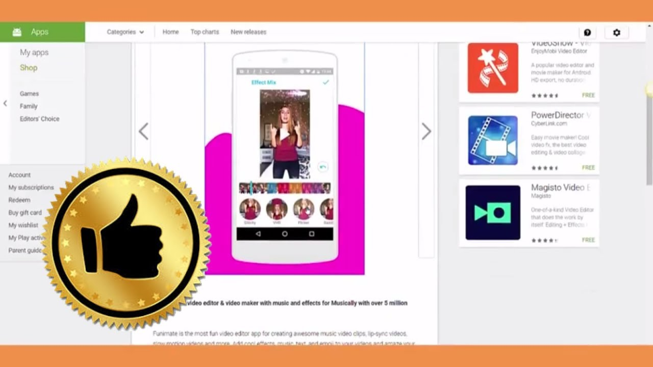 top best video editor app for android