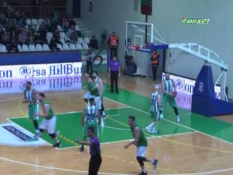 TBL 23.Hafta: Bursaspor Durmazlar 89-73 Ankara DSİ