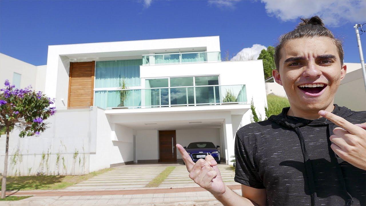 Nova Casa Dos Youtubers Youtube