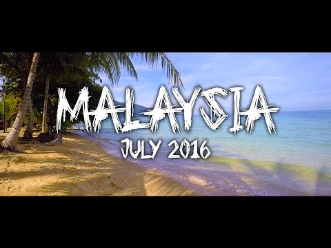 BACKPACKING IN MALAYSIA - July 2016