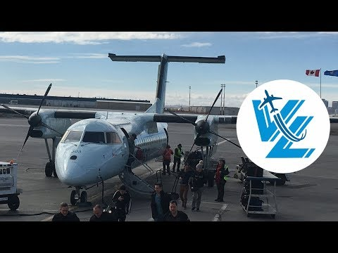 TRIP REPORT: Air Canada Express Bombardier Dash 8-300 operated by Jazz - Edmonton ✈ Calgary