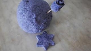 Масса папье- маше из яичных лотков-papier-mache from egg trays