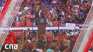 US President Donald Trump launches 2020 re-election campaign