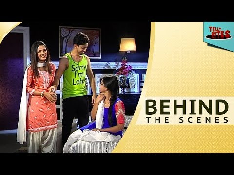 Behind the scenes  From the sets of Tashn e Ishq