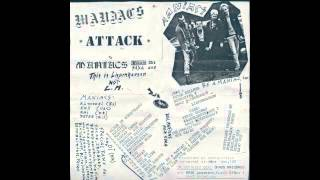 maniacs - attack (complete tape 1983) hardcore punk