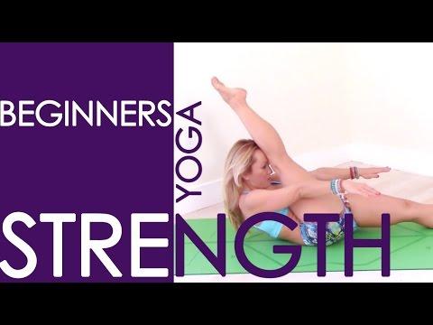 Beginner Yoga Strength Basics, 15 Minute Practice with Kino