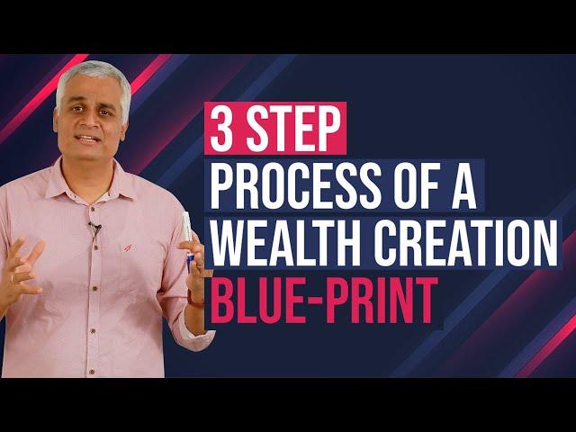 Three Step Process of a Wealth Creation Blue-print