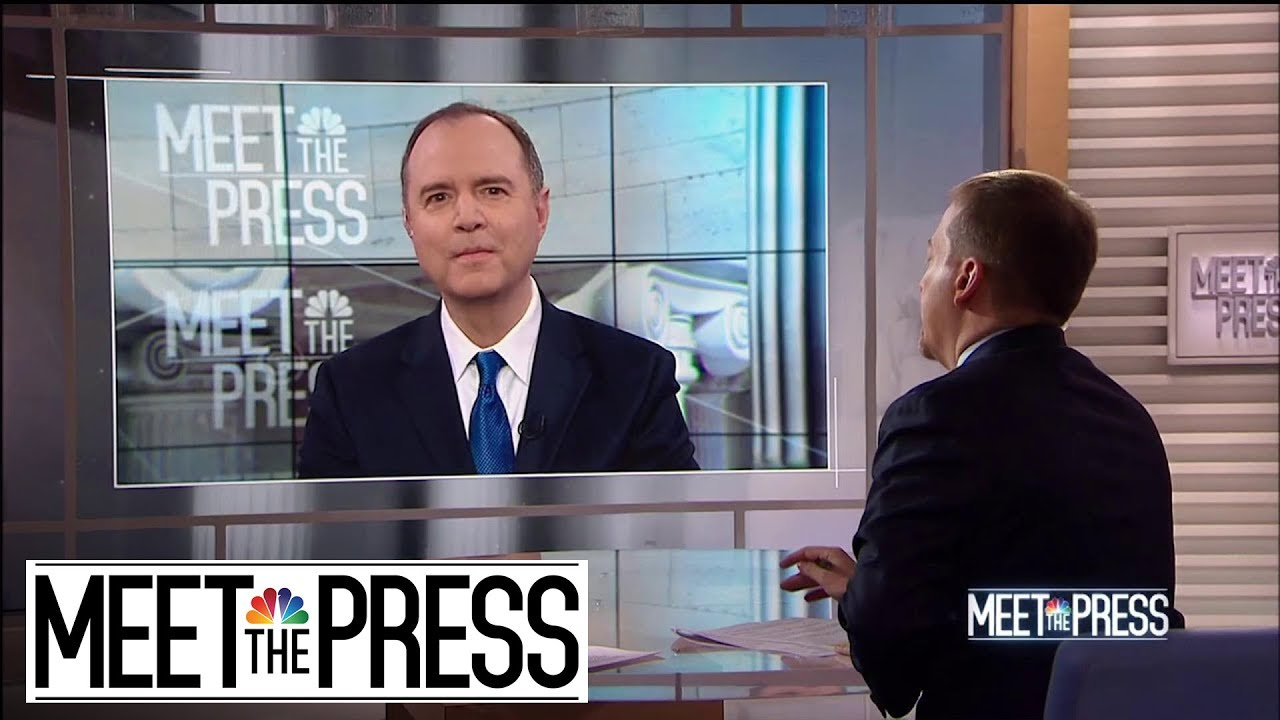 Full Schiff: 'Mistake' To Not Have President Trump Testify Under Oath | Meet The Press | N