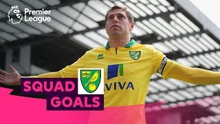 Outstanding Norwich City Goals | Holt, Tettey, Huckerby | Squad Goals