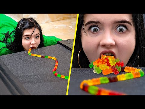 Gummy Bears Challenge!