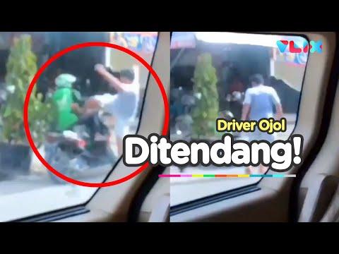 Kawan Ditendang, Ratusan Driver Ojol Kepung Rumah Pelaku