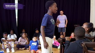 Voicebox Drama Workshops at Hoxton Hall