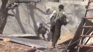 Сирия Сегодня! Жесть! Дамаск  танк САА выкуривает боевиков из окопов!!Эксклюзив! Новости Сегодня