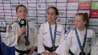Rishony, Cohen & Nelson Levy (ISR) Medal rush in Tel Aviv GP 18