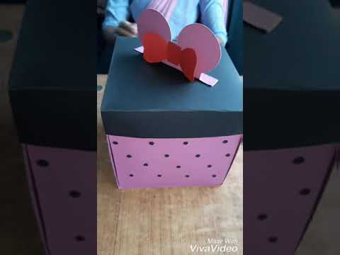 BEST SURPRISE GIFT FOR DAUGHTER Birthday Gift EXPLOSION BOX TUTORIAL