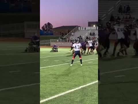 Kyle Anthony - Middle School Football Team Manager Rolls His Way to First Touchdown