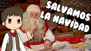 WE SAVE THE CHRISTMAS ? Roblox Save Christmas Obby in Spanish