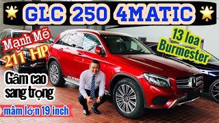 GLC 250 4Matic | 1.989 triệu | Mâm 19 inch- 13 Loa Burmester-  SUV hạng sang mạnh mẽ- 0902105599