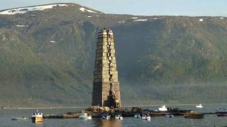 Slinningsbålet 2010 Bonfire World record!