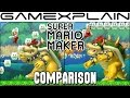 Super Mario Maker 3DS Head-to-Head Comparison (Wii U vs. 3DS )