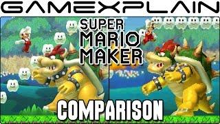 Super Mario Maker 3DS Head-to-Head Comparison (Wii U vs. 3DS )