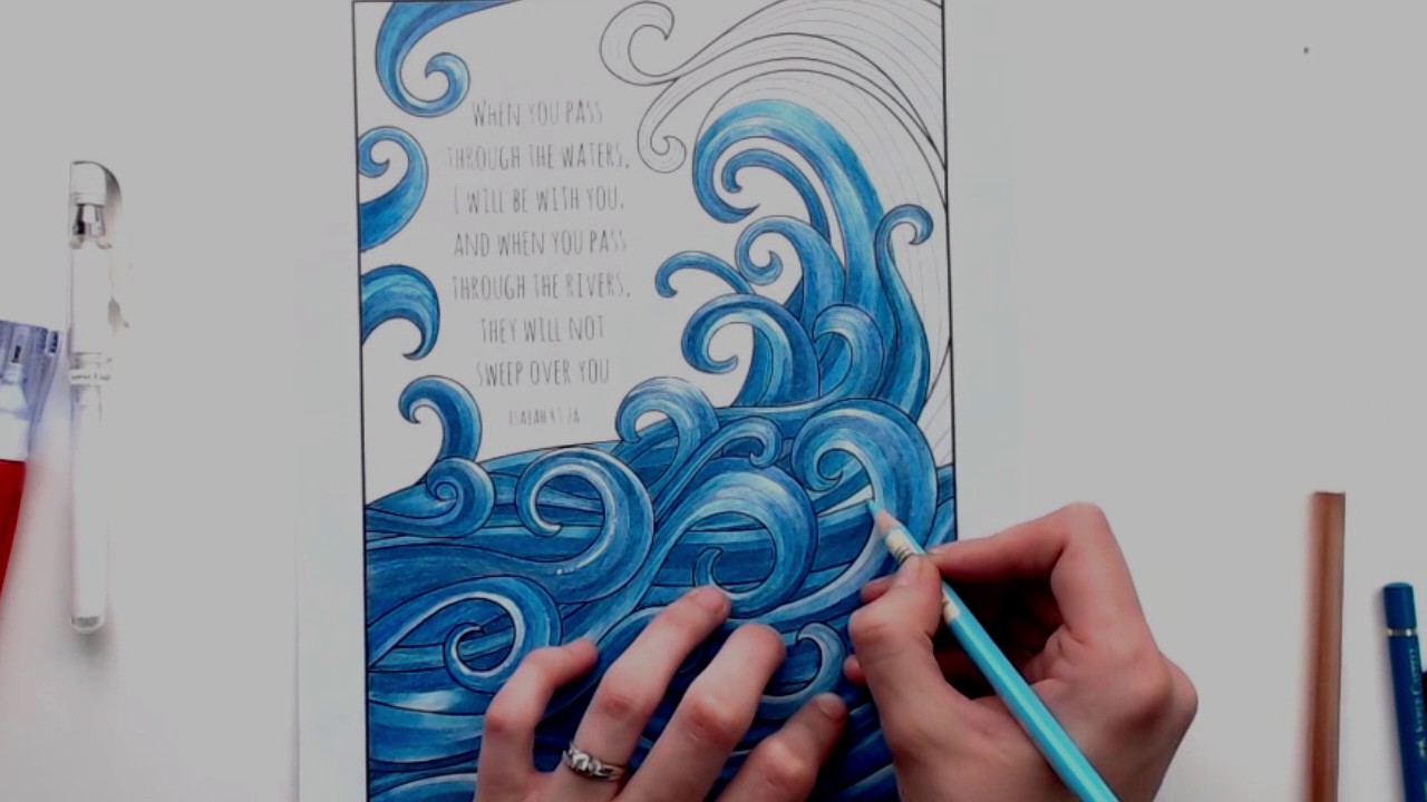Coloring Tutorial Adding White Highlights Using A White