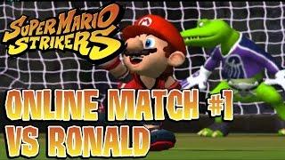 Super Mario Strikers: Online Match #1 (VS Ronald)
