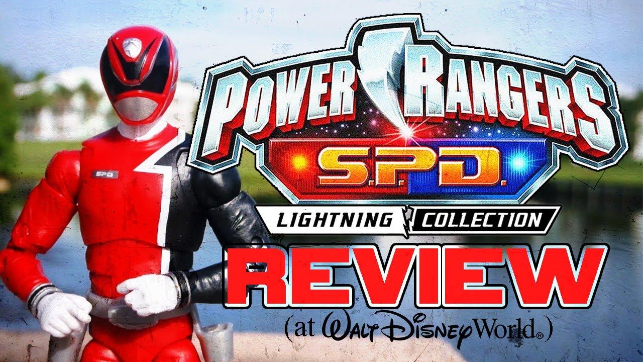Power Rangers S.P.D. - Lightning Collection Red Ranger Figure REVIEW! (at Walt Disney World)